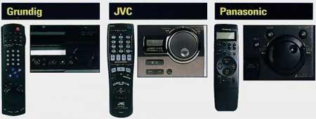 commandes comparatif 3 VHS