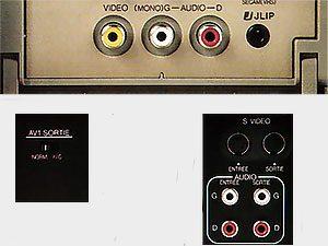 Connecteurs JVC HR-S9400