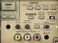 Commandes JVC HR-S9400