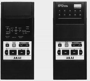 Télécommande Akai VS-X9EGN