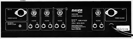Face arrière Bauer VED 200