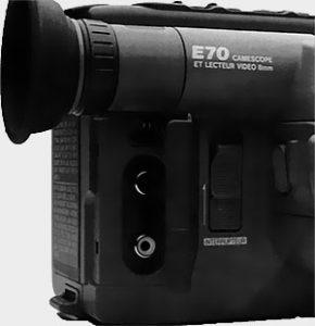 Face arrière droite Canon E70