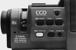 commandes des fonctions Canon E70