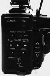 commandes magnétoscope JVC GR45
