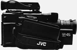 JVC GR-45 de coté