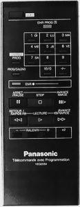 Télécommande panasonic NV G12