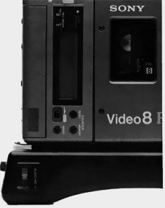 Touches de commande Sony CCDV-200