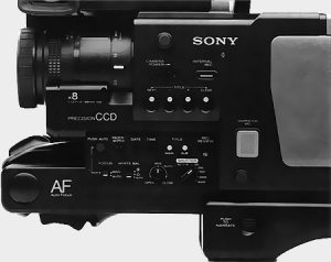 Fonctions Sony CCD V-200