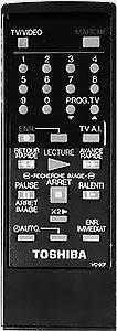 télécommande toshiba DV 90F