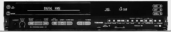 Toshiba DV 90F facade