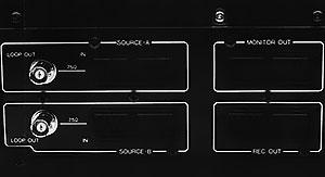 Connecteurs Sansui VX-99