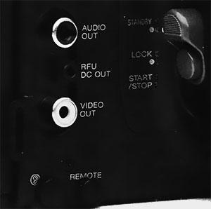 Sortie audio Fuji M-680