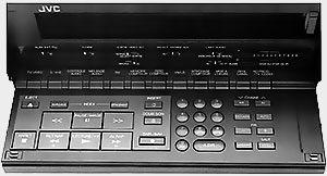 Panneau avant ouvert JVC HR-S 5000 S
