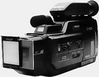 Porte diapos Minolta VHS 500 sur C-50E