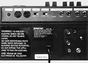 Connexion Portax UMV-20