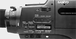 Fonction caméra Sanyo VM-D5P