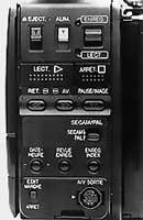 Face arrière Sharp VL-C 650