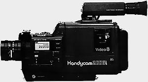 Sony EVC X10 version camescope de poing
