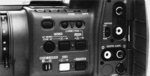 Canon Canovision A1 coté gauche