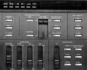 Partie mixage Panasonic WJ-MX10