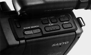 Section magnétoscope Sanyo VM-D6P