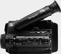 Commande caméra Sony CCD-TR55