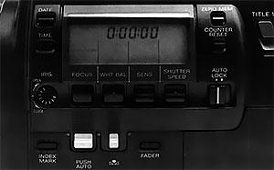 fonction caméra Sony CCD-V900