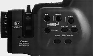Commande Canon E-640