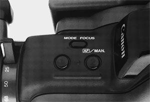 Réglage mise au point Canon E-640