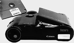 L'ouverture du logement du floppy-discCanon-Ion-RC-251