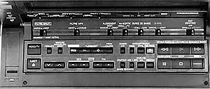 Tableau de commande Panasonic NV-FS100