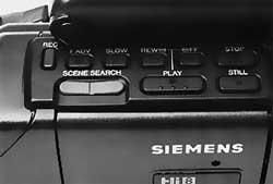 Touche magnétoscope Siemens FA-129