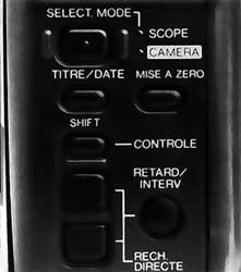 section magnétoscope Canon E50