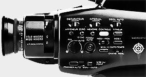 Face avant gauche Hitachi VM 3300 S