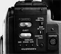 Face arrière Panasonic NV-MS90