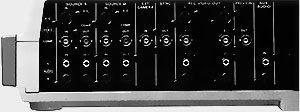 Panneau arrière Panasonic wj-mx12
