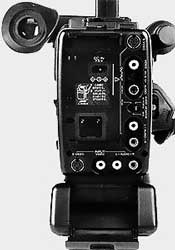 Face arrière Sony CCD-V5000