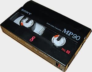 Cassette Video8