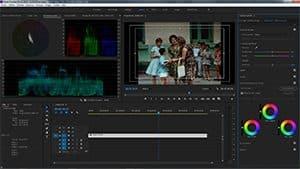 Etalonnage film 16mm numérisé