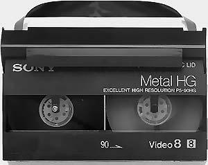 Conversion de cassette 8mm en DVD