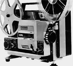 Projecteur super 8