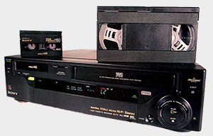 Transfert de cassette vidéo