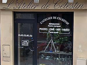 Atelier de Célestin
