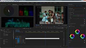 Etalonnage film avec Premiere Pro