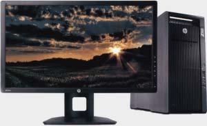 PC avec écran et UC