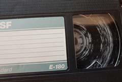 Bande VHS moisie