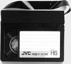 Cassette format VHS C
