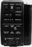 Panneau arrière Sharp VL-S860